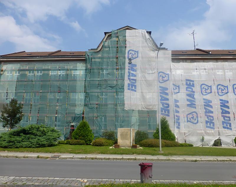 Drahotuše Ostrava - fasádní lešení