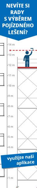Porovnejte pojízdné lešení ALFIX