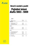 Návod pojízdné lešení ALUFIX 5000