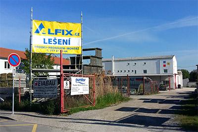 Pobočka Brno - lešení ALFIX