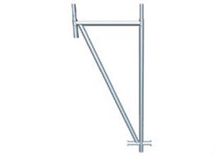 Trojúhelníková opěra - zastřešení staveb, střešní lešení