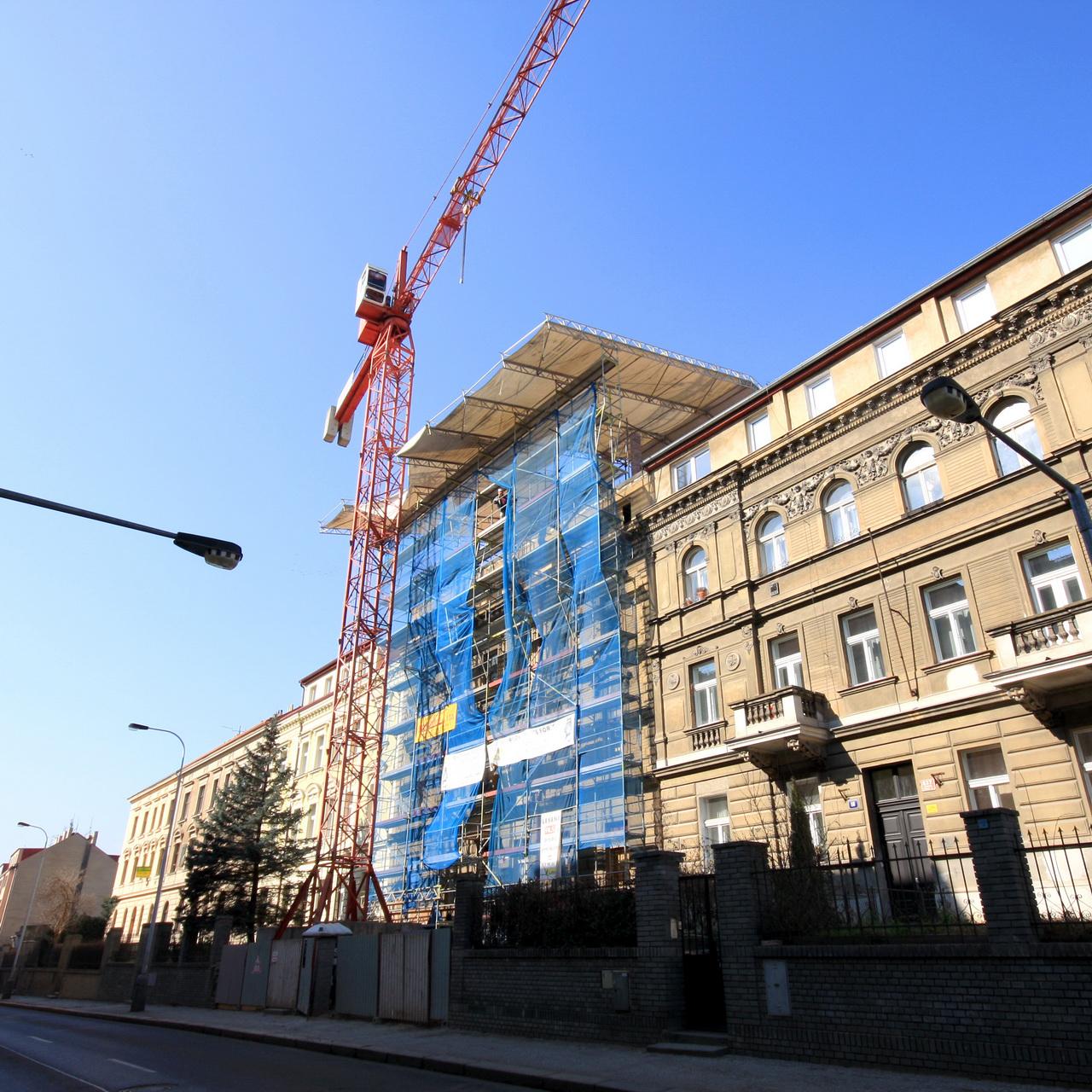 půjčovna lešení Praha